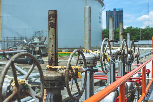 Apparatuur voor raffinaderijen voor olie- en gaskleppen in pijpleidingen bij gasfabrieksdruk veiligheidsklep selectief