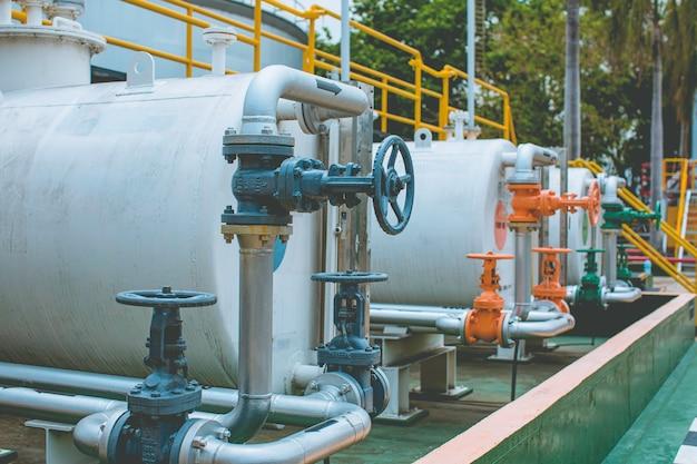 Apparatuur voor raffinaderijen voor pijp veel kleuren lijnolie en tank bij fabrieksoliedruk veiligheidsklep selectief;