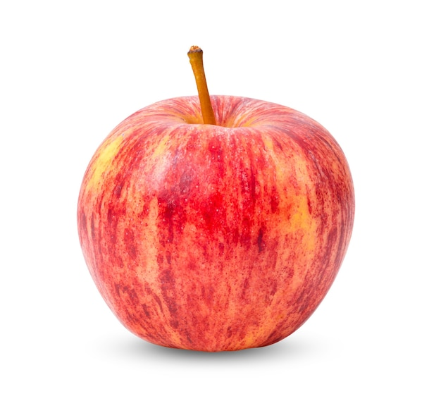 Appel geïsoleerd op witte achtergrond