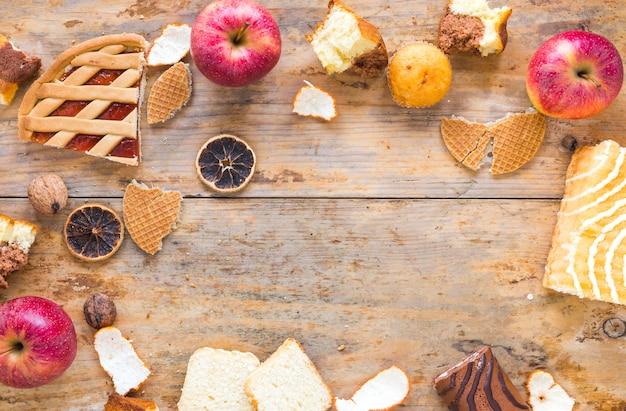 Appels en gebak