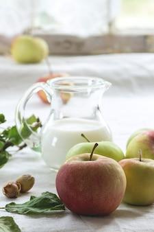Appels en melk