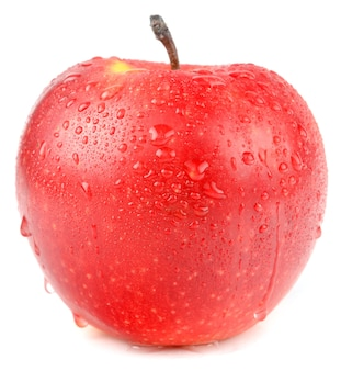 Apple op een witte achtergrond