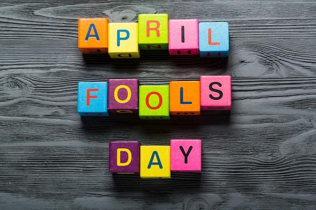 April fool's day kaart