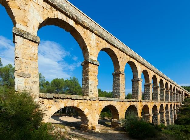 Aquaduct de les ferreres in tarragona
