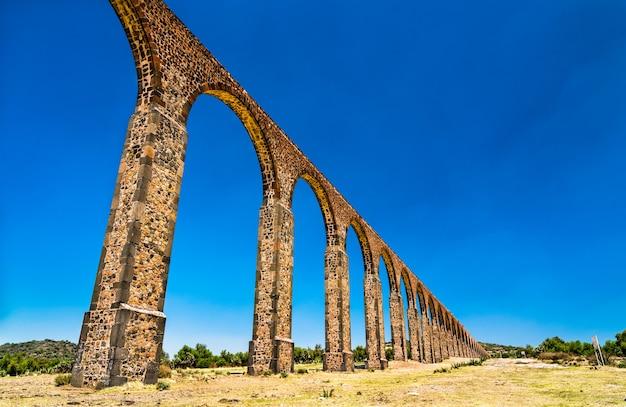 Aquaduct van padre tembleque, unesco-werelderfgoed in mexico