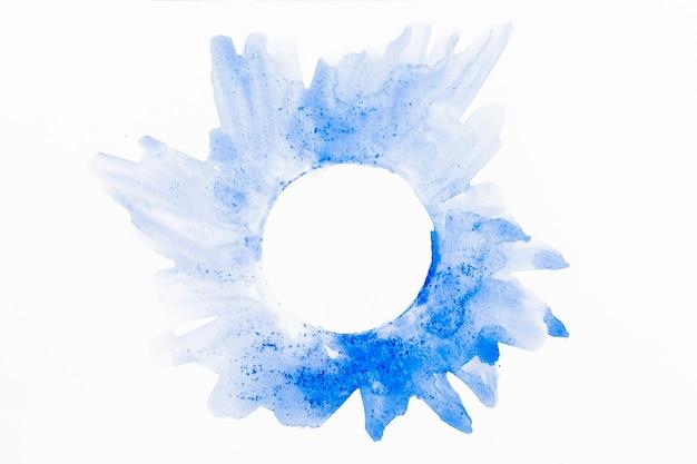 Aquarel abstracte cirkels achtergrond