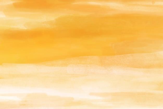 Aquarel achtergrond, geel bureaublad wallpaper abstract ontwerp