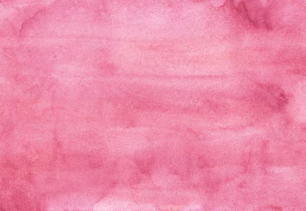 Aquarel camelia rose kleur achtergrond textuur hand geschilderd