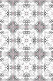 Aquarel ceramiektegel geometrische achtergrond. grijze naadloze patroon.