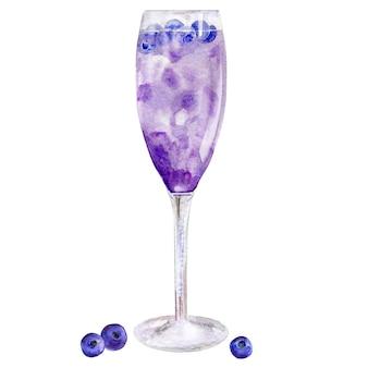 Aquarel cocktail