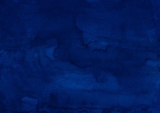Aquarel diepblauwe achtergrondstructuur