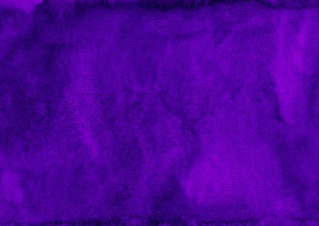 Aquarel diepe koninklijke paarse achtergrondstructuur