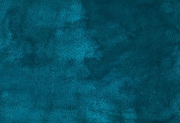 Aquarel diepe peacock blauwe oude achtergrond