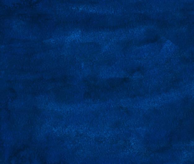 Aquarel donker blauwe achtergrondstructuur