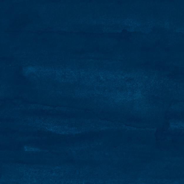Aquarel donkerblauwe achtergrond textuur