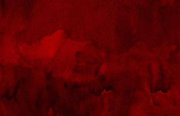 Aquarel donkerrode textuur achtergrond hand geschilderd. aquarel rode wijn kleur achtergrond.