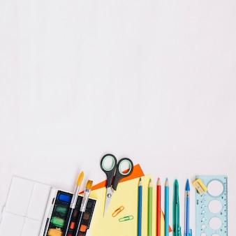 Aquarel en briefpapier