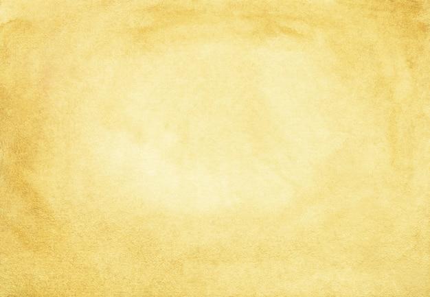 Aquarel gele achtergrond met ruimte voor tekst