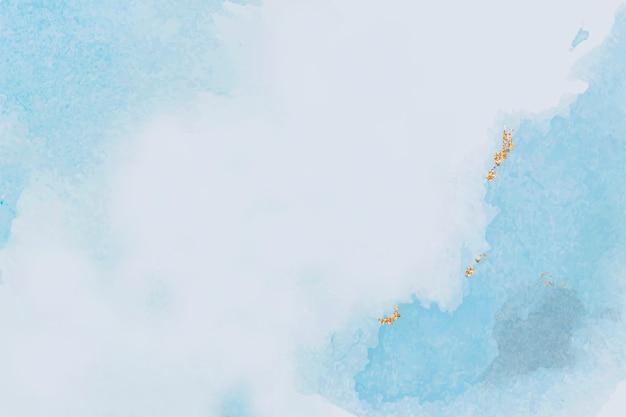 Aquarel getextureerde blauwe achtergrond