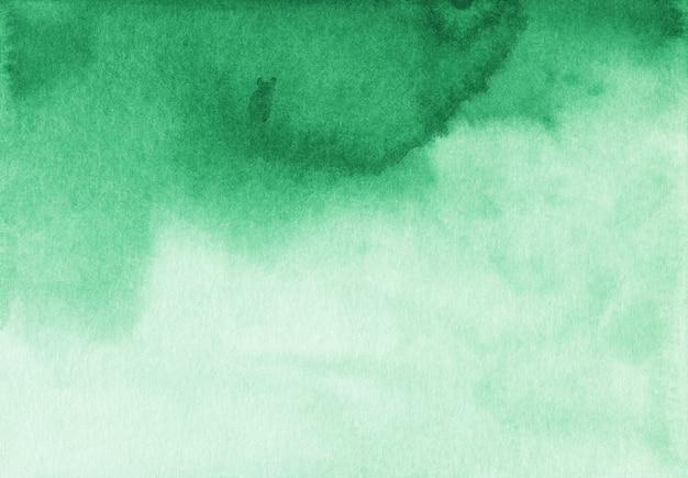 Aquarel groene en witte kleurovergang achtergrondstructuur. aquarelle vloeibare abstracte achtergrond.