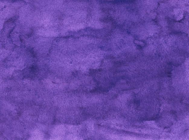 Aquarel koninklijke paarse achtergrondstructuur