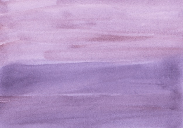 Aquarel lavendel achtergrondstructuur. diep violette aquarel achtergrond. vlekken op papier, met de hand beschilderd