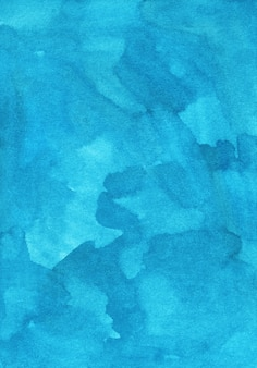 Aquarel licht cyaan blauwe achtergrond schilderij. turquoise aquarel artistieke achtergrond.