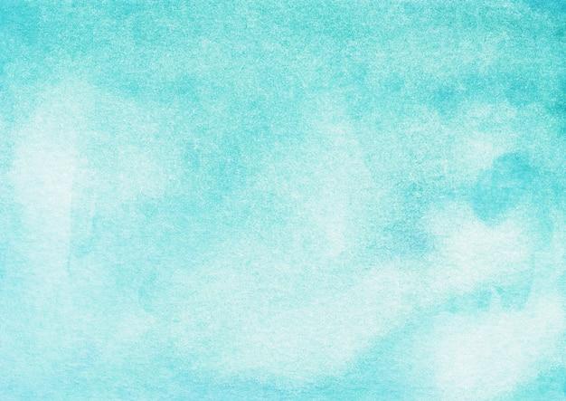 Aquarel lichtblauwe achtergrond met kleurovergang hand geschilderd