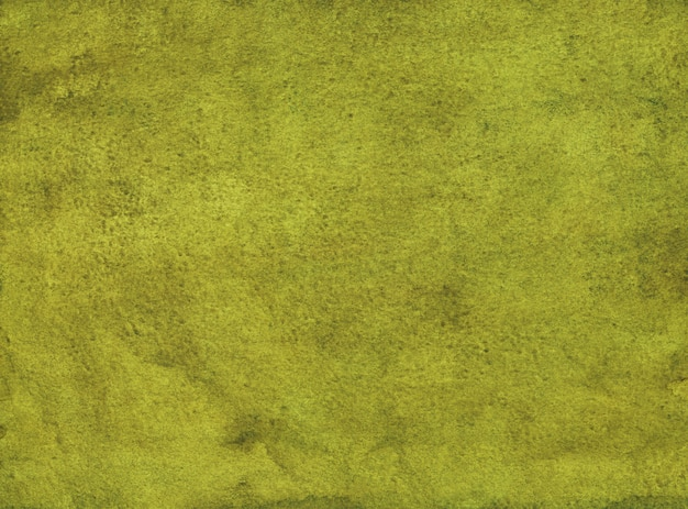 Aquarel mosterd gele achtergrond schilderij