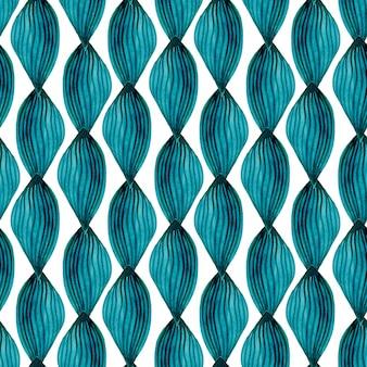 Aquarel naadloze patroon modern textiel