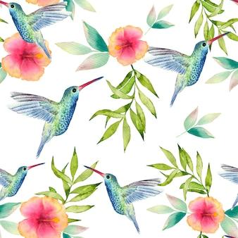 Aquarel naadloze patroon moderne stijlvolle textuur.
