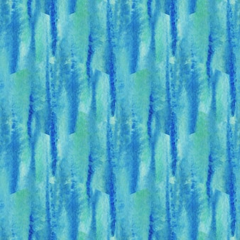 Aquarel naadloze patroon textuur. moderne turkooizen achtergrond