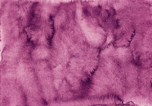 Aquarel oude karmozijnrode achtergrondstructuur. diep roze aquarelle achtergrond.