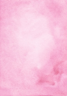 Aquarel pastel roze achtergrond hand geschilderd. aquarelle lichtroze vlekken op papier.