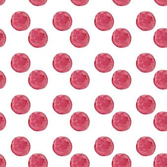 Aquarel ronde stippen patroon. naadloos hand getrokken patroon. hand getekend abstract behang