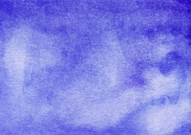 Aquarel royal blue ombre achtergrond hand geschilderd