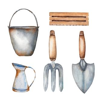 Aquarel tuingereedschap set