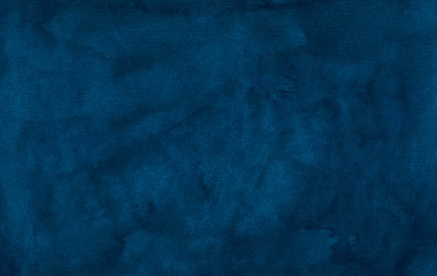 Aquarel vintage diepblauwe achtergrondstructuur. aquarel abstracte oude donkere inkt blauwe achtergrond aquarel elegante sjabloon.