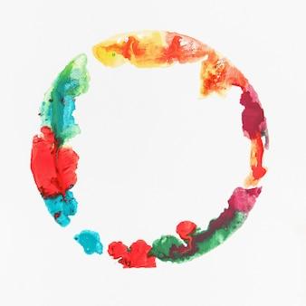 Aquarel vlek kleurrijke