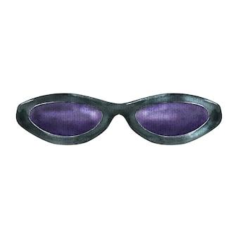 Aquarel zonnebril