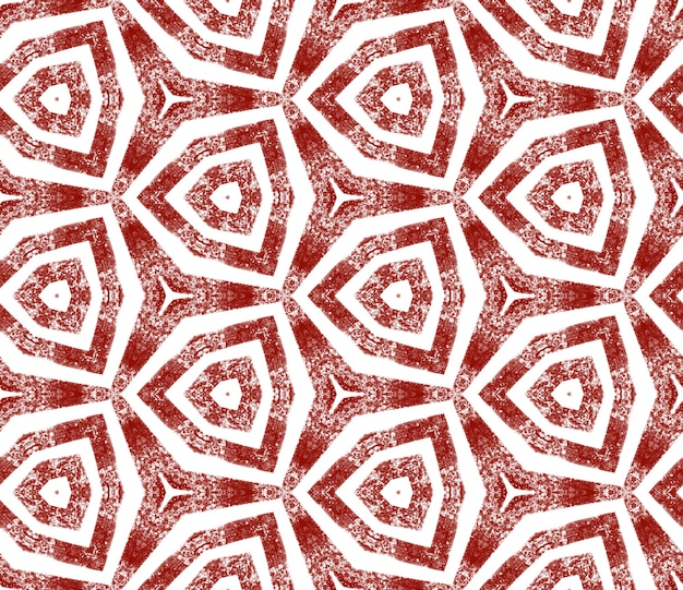 Arabesque hand getekende patroon. wijn rode symmetrische caleidoscoop achtergrond. textiel klaar delicate print, badmode stof, behang, inwikkeling. oosterse arabesk hand getekend ontwerp.