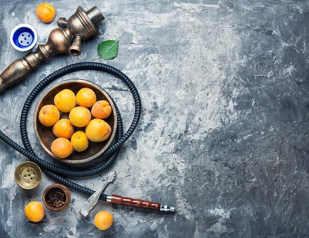 Arabië shisha met abrikozen tabak