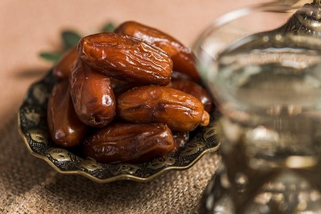 Arabisch voedselconcept voor ramadan