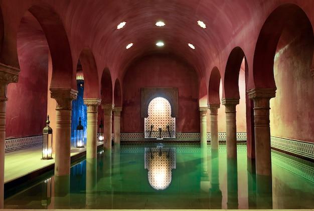 Arabische baden in granada