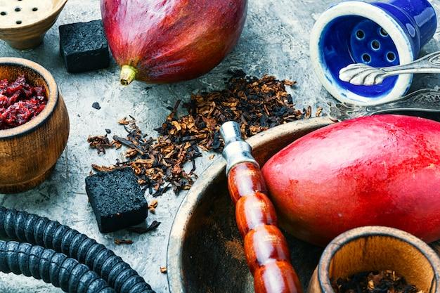 Arabische rokende waterpijp