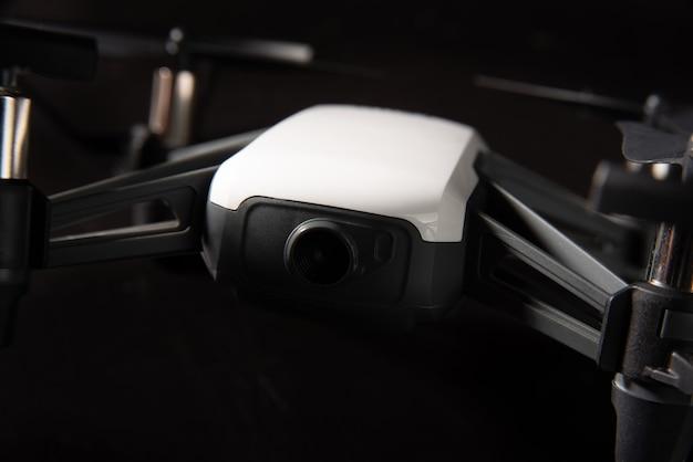 Araras, so paulo, brazilië. 03 september 2021. tello drone gefotografeerd met donkere achtergrond en kleine scherptediepte, selectieve focus.