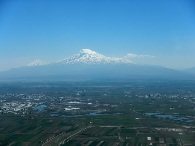 Ararat is een heilige berg, armenië