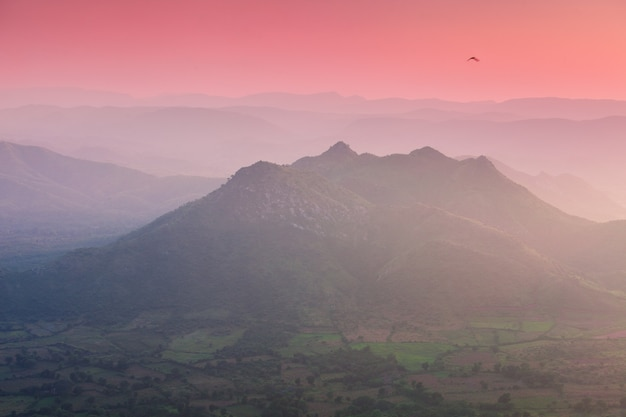 Aravalli bergen, udaipur