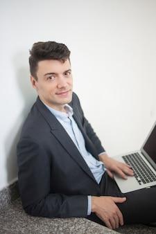 Arbeider gebruiker specialist positief volwassen