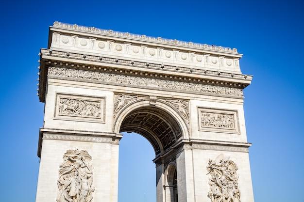 Arc de triomphe, parijs, frankrijk